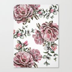 Summer Roses II Canvas Print
