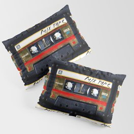 Retro classic vintage gold mix cassette tape Kissenbezug