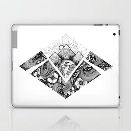 Geometric Nature Laptop & iPad Skin
