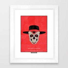 MuertOU - TTU vs OU 10/28/17 Framed Art Print