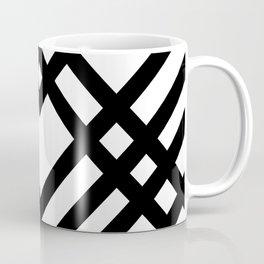 Geo Deco White Coffee Mug