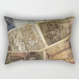 Old German money Rectangular Pillow