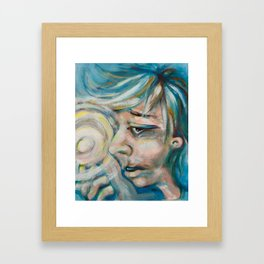 The Magic Finger Framed Art Print