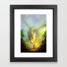 Dragon Hunter Framed Art Print