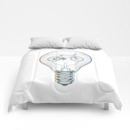 Light Bicycle Bulb Comforters