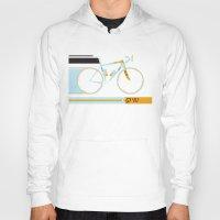 bike Hoodies featuring Bike by Wyatt Design