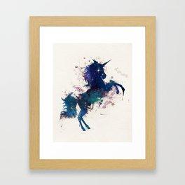 Unicorn Dreams Framed Art Print