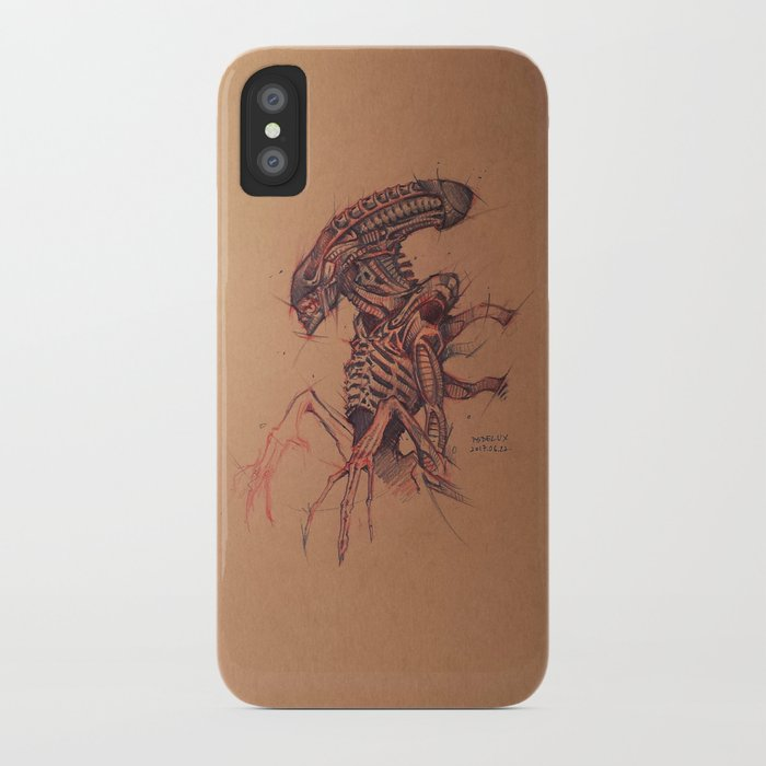xenomorph alien iPhone Case