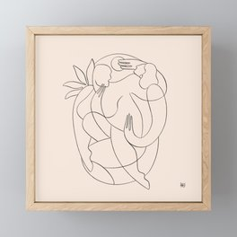 Dreamers no.9 Framed Mini Art Print
