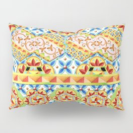 Gypsy Caravan Circus Pillow Sham