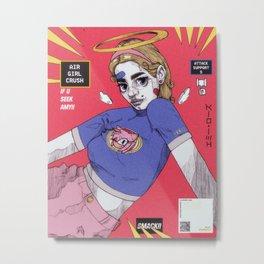 amy girl Metal Print
