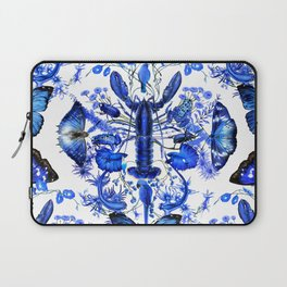 Ultramarine (pattern) Laptop Sleeve
