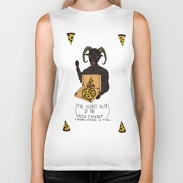 THE SECRET CULT OF THE PIZZA EATERS Biker Tank