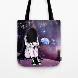 Gone away girl Tote Bag