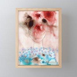 Head Vs. Heart Framed Mini Art Print