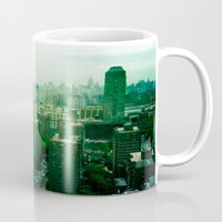 brooklyn Mugs featuring Brooklyn by Claire Beaufort