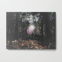 MI Sun Metal Print