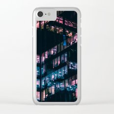 Moscow City Towers Clear iPhone Case