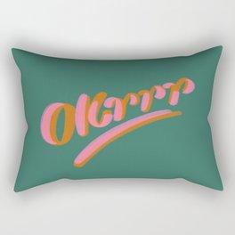 Okrrr Rectangular Pillow