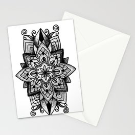 Mandala Curley Stationery Cards