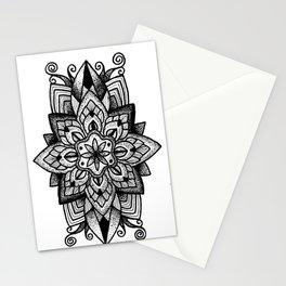 Mandala Curley Stationery Cards