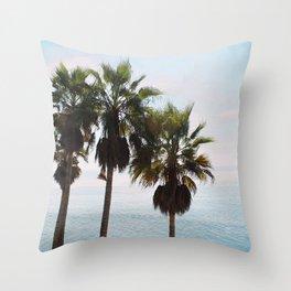 Laguna Palms Throw Pillow