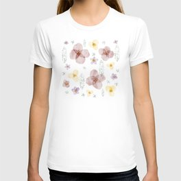 Soft Little Flowers T-shirt
