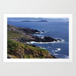 Atlantic Coast Ireland Art Print