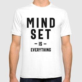 Growth Mindset Entrepreneur Teacher Fitness Motivation T-shirt