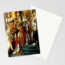Le Sacre De Napoleon  Stationery Cards