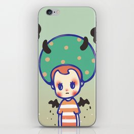 i need some courage iPhone Skin