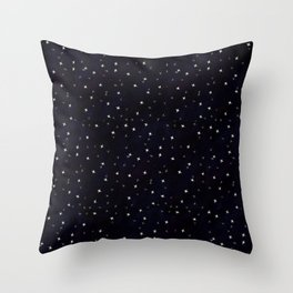 that big sky full of big stars Throw Pillow