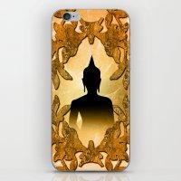 buddha iPhone & iPod Skins featuring Buddha  by nicky2342