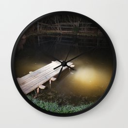 Crossing the Threshold between Life and Death Wall Clock