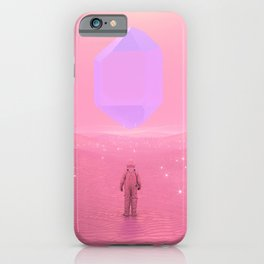 Lost Astronaut Series #03 - Floating Crystal iPhone Case