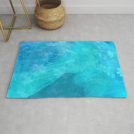 ghost in the swimming pool #003 Rug