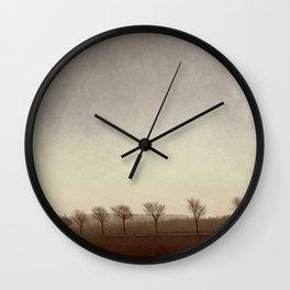 En Route Wall Clock