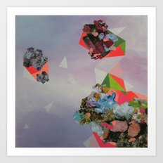Mineral Fracture Art Print