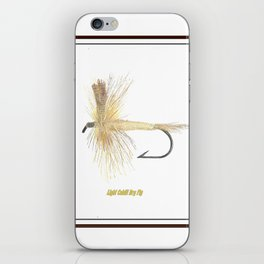 Light Cahill Dry Fly iPhone Skin