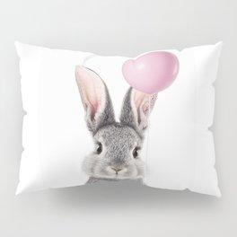 Bunny With Balloon Pillow Sham