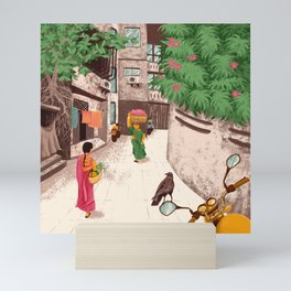 Beautiful Indian ladies Mini Art Print