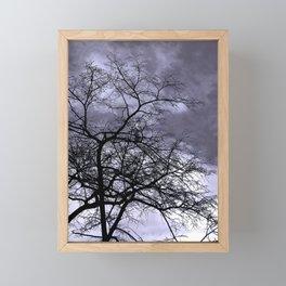 Purple Escape Framed Mini Art Print