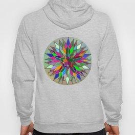 Mandala #106, Star Burst Hoody