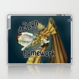 My Dragon Ate My Homework Laptop & iPad Skin