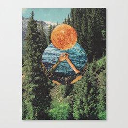 """The Listener"" Canvas Print"