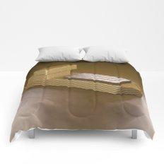 Chocolate Ship - 3D Art Comforters