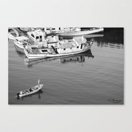 Fishing the Graveyard Canvas Print