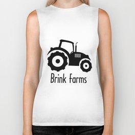 Baby TRACTOR FARM personalized boy  truck Biker Tank
