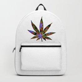 Cannabis Rainbow Design (16) Backpack