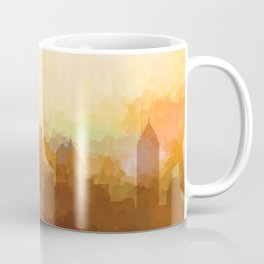 Atlanta, Georgia Skyline - In the Clouds Coffee Mug